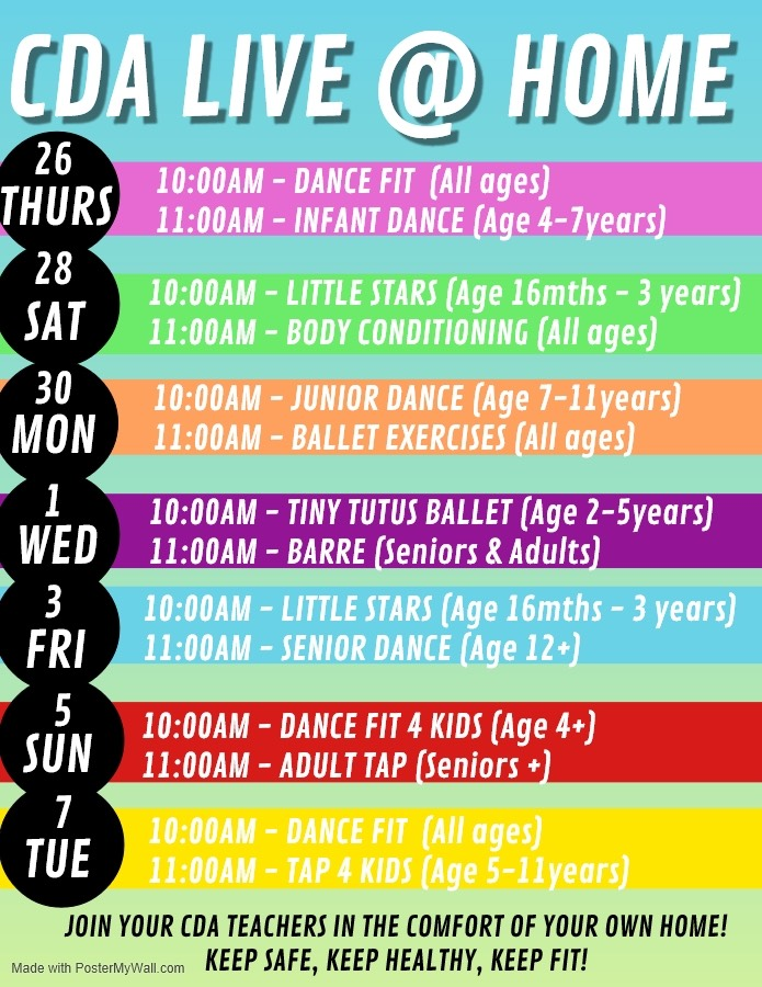 Live at home timetable