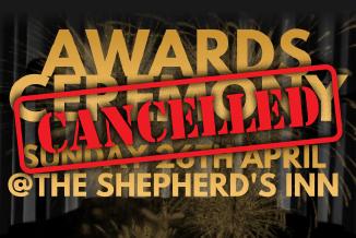 CDA Awards Ceremony – CANCELLED
