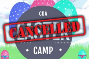 CDA Easter Camp 2020 – Cancelled
