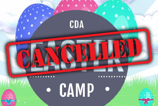 CDA Easter Camp 2020 –Cancelled