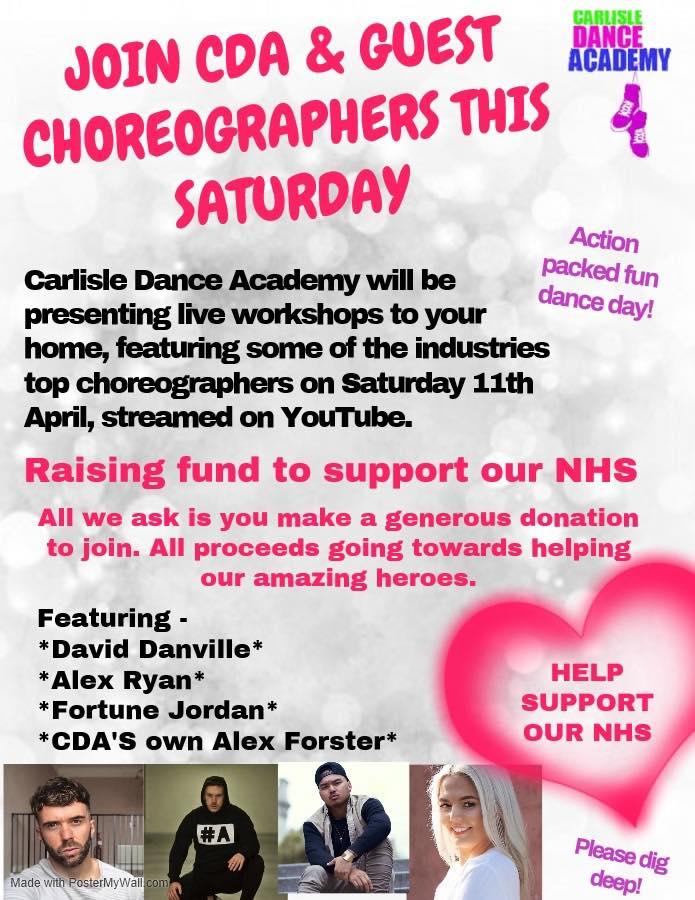 CDA NHS Fundraiser