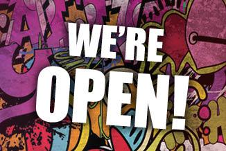 CDA ANNOUNCEMENT - WE'RE OPEN!